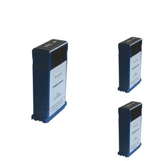 INSTEN Black Cartridge Set for Canon BCI-1431 (Pack of 3)