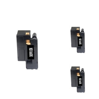 BasAcc Black Cartridge Set Compatible with Dell C1660W (Pack of 3)