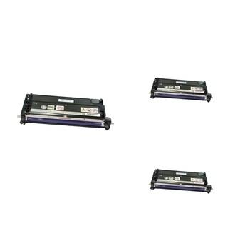 INSTEN Black Cartridge Set for Dell 3110/ 3115 (Pack of 3)