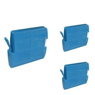 INSTEN Cyan Cartridge Set for Brother LC-51C (Pack of 3)