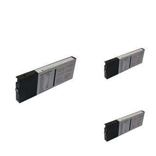 Epson T060220 Cyan Cartridge Set (Remanufactured) (Pack of 3)