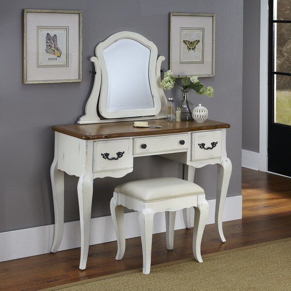 Home Styles The French Countryside Vanity and Bench