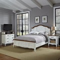 The French Countryside King Bed, Night Stand, and Media Chest