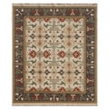 Hand-Knotted Multi Twisted wool Rug (2x3)