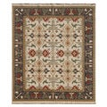 Hand-Knotted Multi Twisted wool Rug (10x14)