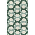 Hand-tufted Tatum Blue/ Green Wool Rug (2'3 x 3'9)