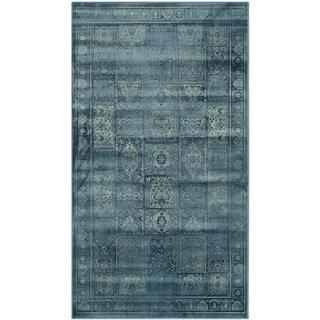 Safavieh Vintage Turquoise Viscose Rug (3' x 5')