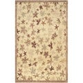 Safavieh Tibetan Multicolored Hand-knotted Contemporary Wool Rug (4' x 6')