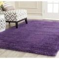 Safavieh Milan Shag Purple Rug (8' x 10')