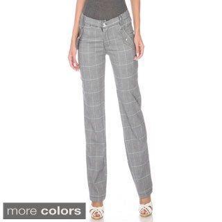 Stanzino Women's Plaid Career Pants