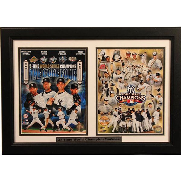2009 New York Yankees World Series Champions 12 x 18 Frame