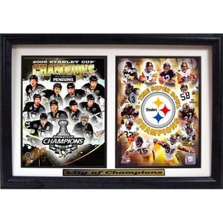 Pittsburgh 'City of Champions' Deluxe Frame