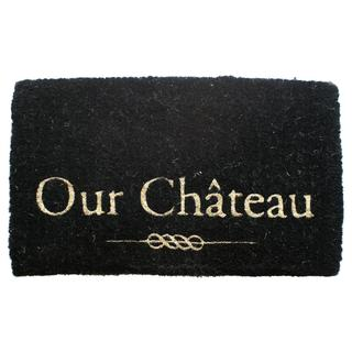 Chateau Extra Thick Handwoven Coconut Fiber Door Mat (18 x 30 inches)