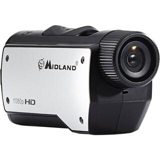 Midland XTC280 Digital Camcorder - CMOS - Full HD - Black, Silver