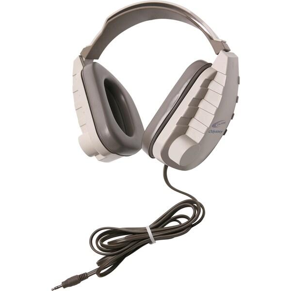 Califone Binaural, Headset 3.5mm Stereo Plug Via Ergoguys