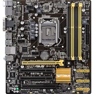 Asus Q87M-E/CSM Desktop Motherboard - Intel Q87 Express Chipset - Soc