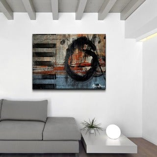 Alexis Bueno 'Rhapsody' Oversized Abstract Canvas Wall Art