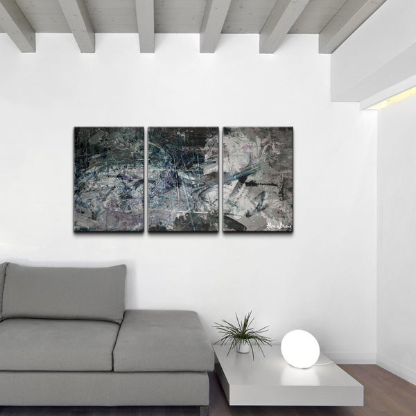 ready2hangart 39 abstract 39 canvas wall art 3 piece