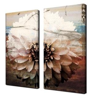 Alexis Bueno 39 Daisy 39 Oversized Canvas Wall Art Set Of 2 Sale 209