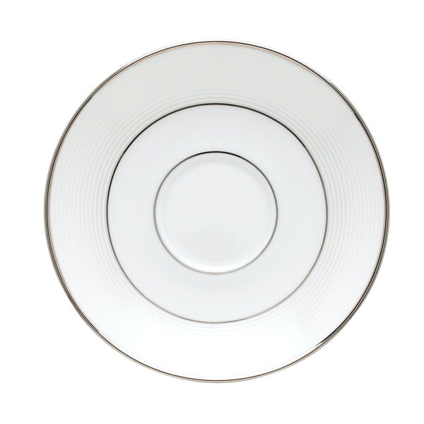 Lenox Opal Innocence Stripe Saucer