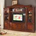 Victoria Traditional Hardwood 5-piece Entertainment Center