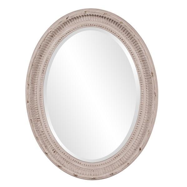 Nero Oval Mirror