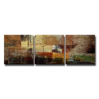 Alexis Bueno 'Abstract' Oversized Canvas Wall Art (3-piece Set)