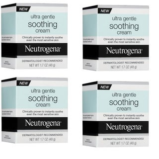 Neutrogena Ultra Gentle 1.7-ounce Soothing Cream (Pack of 4)