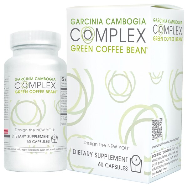Creative Bioscience Garcinia Cambogia Green Coffee Complex