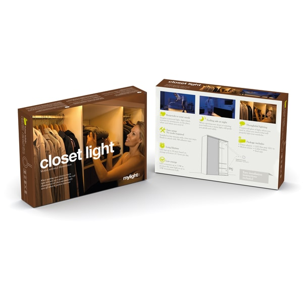 The mylight LED Motion Activated Ambient Lighting Closet Light