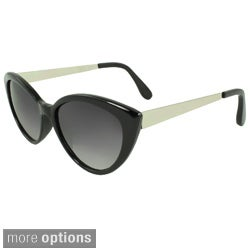 SWG Eyewear Women's Plastic Cat Eye Sunglasses
