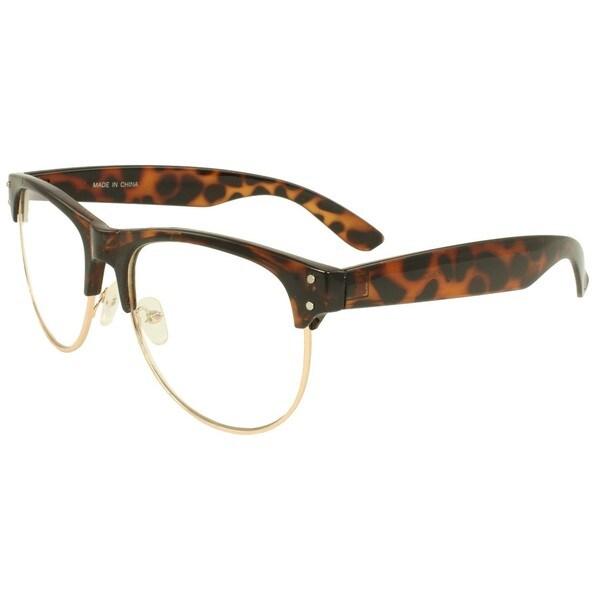 SWG Eyewear Simplicity Soho Brown Leopard Glasses