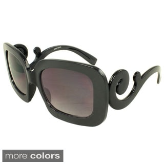 SWG Eyewear Women's Scroll Square Sunglasses