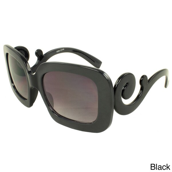 SWG Eyewear Women's Scroll Square Sunglasses