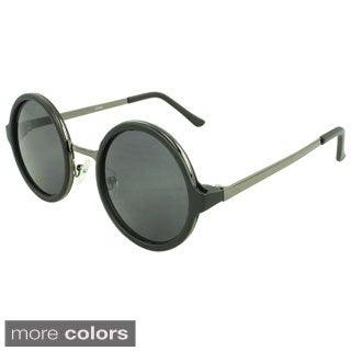 SWG Eyewear Binoculars Round Fashion Sunglasses