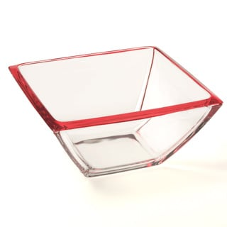 Red Vanilla 8.75-inch Freshness Red Salad/ Hostess Bowl
