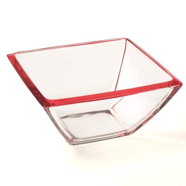 Red Vanilla 8.75-inch Freshness Mix & Match Red Salad/ Hostess Bowl