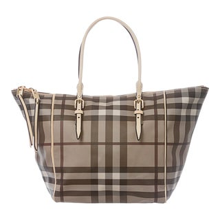 Burberry 'Salisbury' Medium Smoked Check Tote