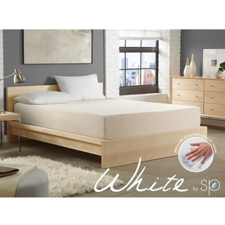 WHITE by Sarah Peyton 8-inch Convection Cooled Plush Support Cal King-size Memory Foam Mattress