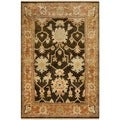 Safavieh Oushak Brown/ Rust Hand-knotted Wool Area Rug (4' x 6')