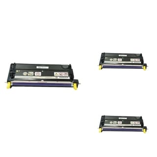 INSTEN Yellow Cartridge Set for Dell 3110 (Pack of 3)
