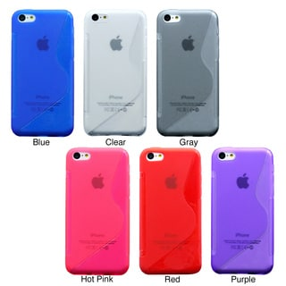Gearonic Apple iPhone 5C Soft TPU Gel Case