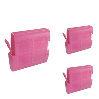 BasAcc Magenta Cartridge Set Compatible with Brother LC-51 (Pack of 3)