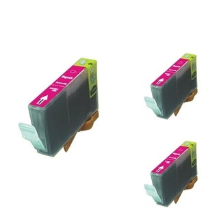 BasAcc Magenta Cartridge Set Compatible w/ Canon BCI-5 (Pack of 3)