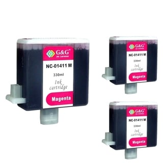 INSTEN Cartridge Set for Canon BCI-1411 (Pack of 3)