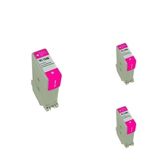 BasAcc Magenta Cartridge Set Compatible with Canon PFI-104 (Pack of 3)