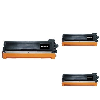 INSTEN Color Cartridge Set for Brother TN210 (Pack of 3)