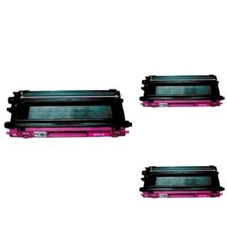 INSTEN Magenta Cartridge Set for Brother TN115 (Pack of 3)