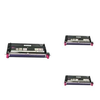 INSTEN Magenta Cartridge Set for Dell 3110 (Pack of 3)