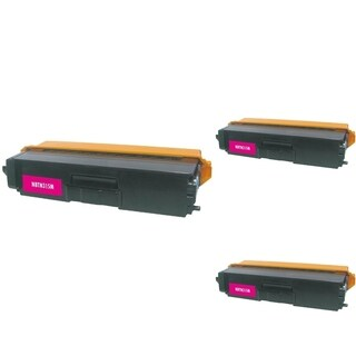 INSTEN Magenta Cartridge Set for Brother TN310 (Pack of 3)